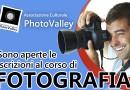 Fotografia: aperte le iscrizioni al corso base organizzato dalla PhotoValley